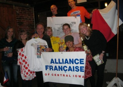 Every year AFCI hosts the Tour de France Route Unveiling Party which includes a French movie about the Tour de France.